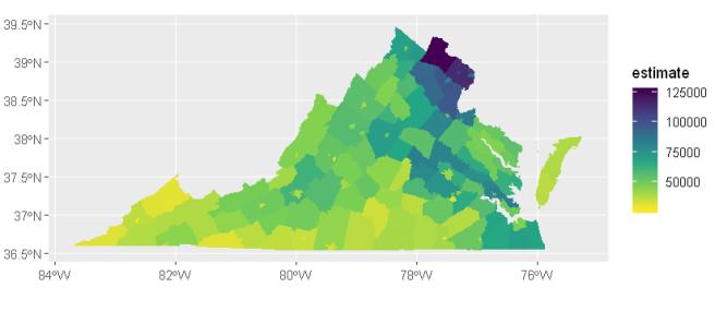 Making maps to visualize census data – NikolaNews on